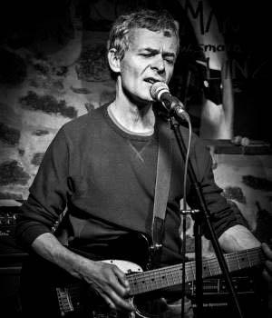 Heinz Braun - Guitarist und vocalist of Redkin
